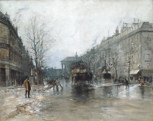 Paris Street Scene 1893 | Frank Myers Boggs | Oil Painting