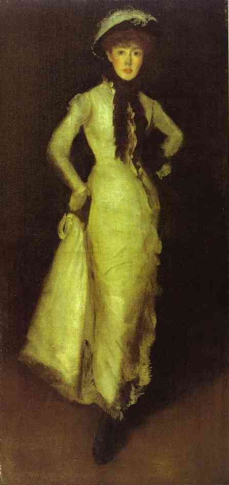 Arrangement In White And Black 1876 | James Abbott McNeill Whistler | Oil Painting
