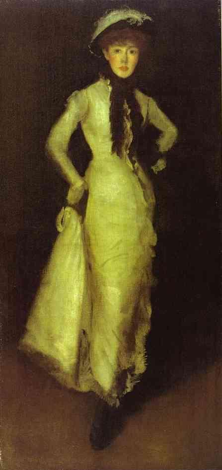 Arrangement In White And Black 1876 | James Abbott McNeill Whistler | Oil Painting