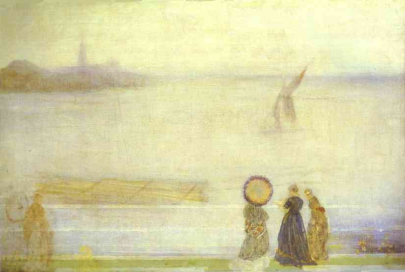 Battersea Reach From Lindsey Houses 1860s | James Abbott McNeill Whistler | Oil Painting