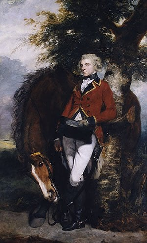 Captain George K H Coussmaker | Sir Joshua Reynolds | Oil Painting