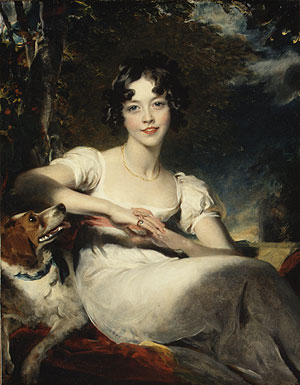 Lady Harriet Maria Conyngham Later Lady Somerville | Sir Thomas Lawrence | Oil Painting