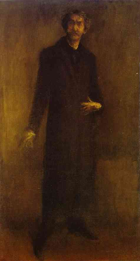 Brown And Gold (Self Portrait) 1895-1900 | James Abbott McNeill Whistler | Oil Painting