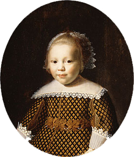 Portrait of a Young Girl | Style of Paulus Moreelse | Oil Painting