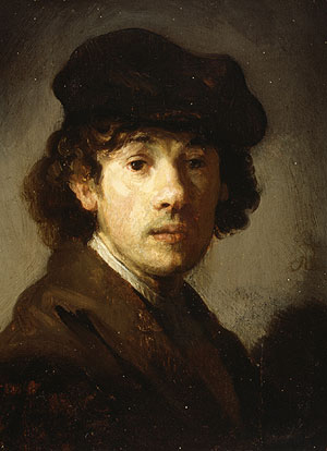 Rembrandt as a Young Man | Style of Rembrandt | Oil Painting