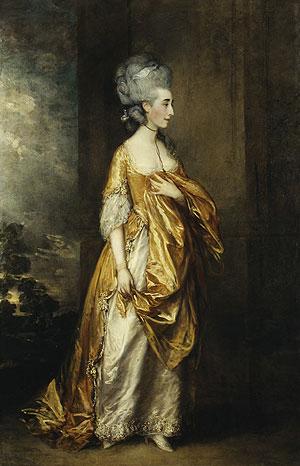 Mrs Grace Dalrymple Elliott | Thomas Gainsborough | Oil Painting