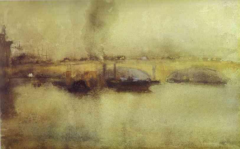 London Bridge 1885 | James Abbott McNeill Whistler | Oil Painting