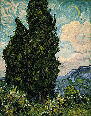 Cypresses 1889 | Vincent van Gogh | Oil Painting