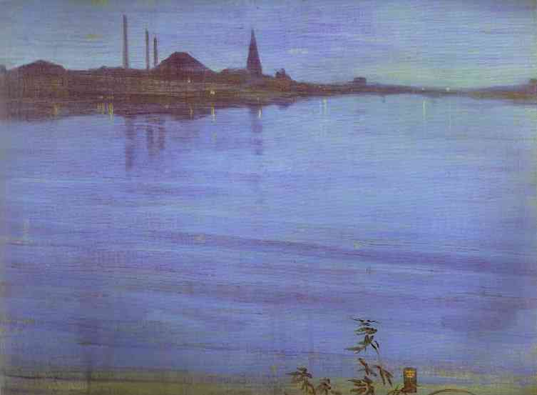 Nocturne In Blue And Silver 1871 2 | James Abbott McNeill Whistler | Oil Painting