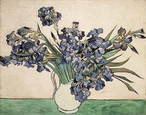 Irises 1890 | Vincent van Gogh | Oil Painting
