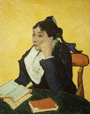 L'Arleienne Madame Joseph Michel Ginoux (Marie Julien) 1888 or 1889 | Vincent van Gogh | Oil Painting