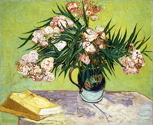 Oleanders 1888 | Vincent van Gogh | Oil Painting