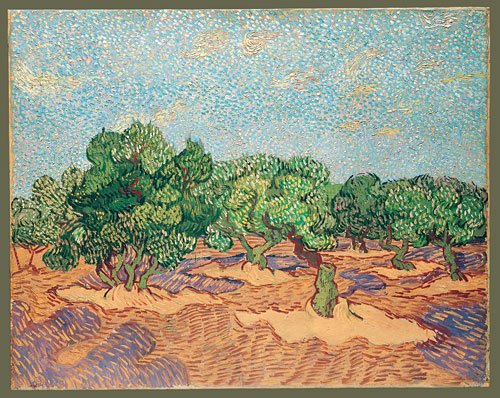 Olive Orchard 1889 | Vincent van Gogh | Oil Painting
