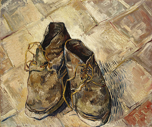 Shoes 1888 | Vincent van Gogh | Oil Painting