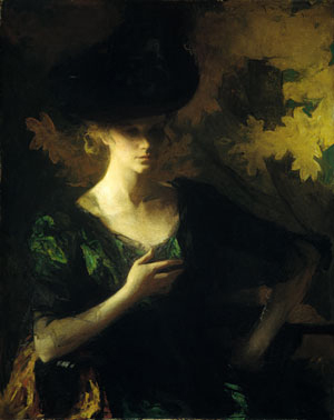 Portrait of a Lady 1901 | Frank W Benson | Oil Painting