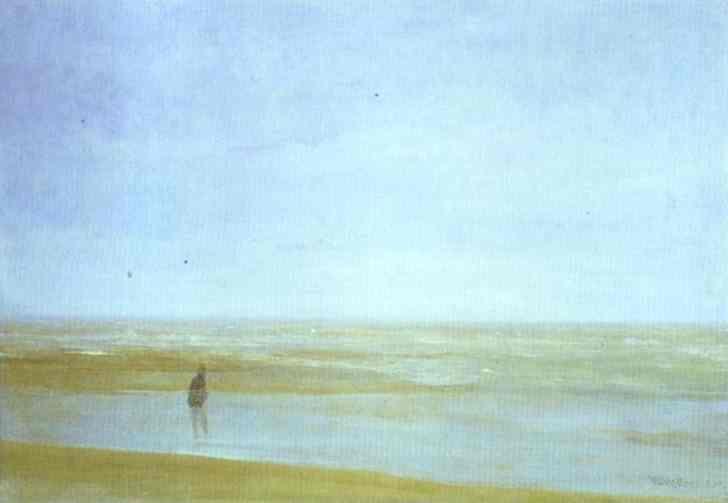 Sea And Rain 1865 | James Abbott McNeill Whistler | Oil Painting