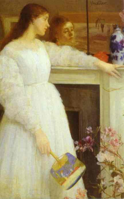 Symphony In White No 2 The Little White Girl 1864 | James Abbott McNeill Whistler | Oil Painting