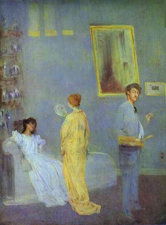 The Artists Studio 1865 | James Abbott McNeill Whistler | Oil Painting