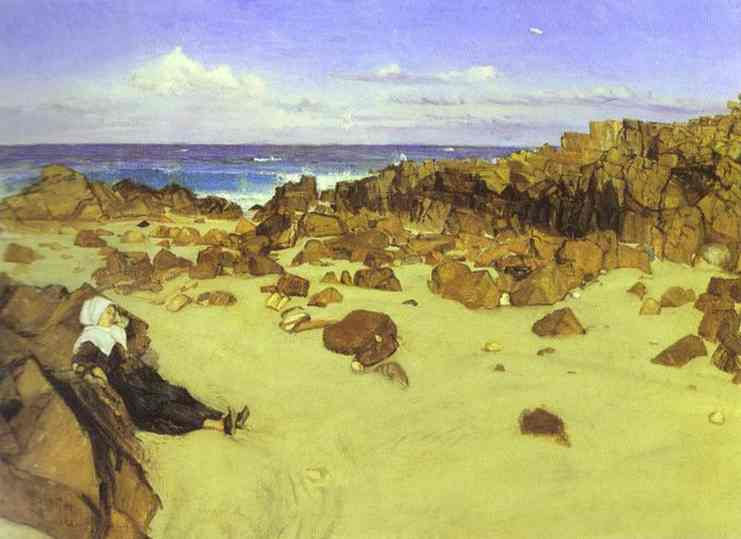 The Coast Of Brittany 1861 | James Abbott McNeill Whistler | Oil Painting