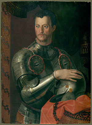 Cosimo I de Medici | Workshop of Bronzino | Oil Painting