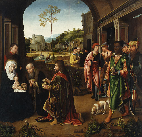 The Adoration of the Magi ca 1520 | Workshop of Gerard David | Oil Painting
