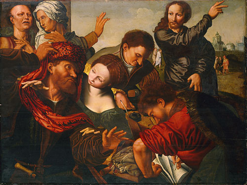 The Calling of Matthew | Workshop of Jan Sanders van Hemessen | Oil Painting