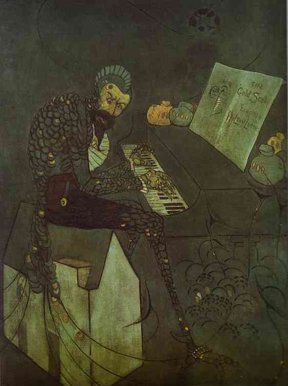 The Gold Scab 1879   James Abbott McNeill Whistler   Oil Painting