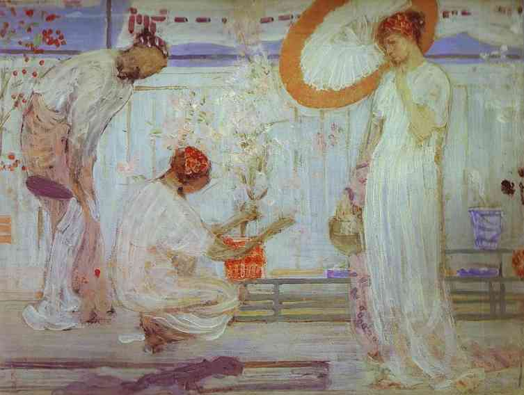 The White Symphony Three Girls 1868 | James Abbott McNeill Whistler | Oil Painting