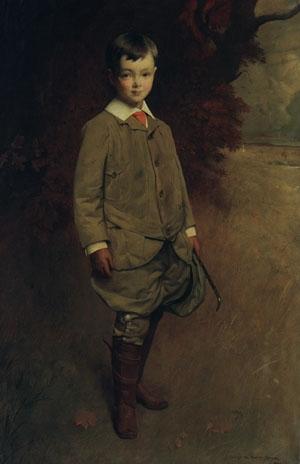 Alan Harriman 1905 | George de Forest Brush | Oil Painting