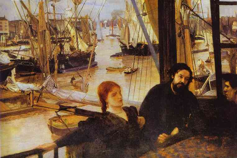 Wapping 1861 | James Abbott McNeill Whistler | Oil Painting
