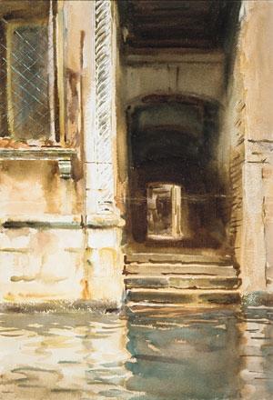 Venetian Passagway ca 1905 | John Singer Sargent | Oil Painting