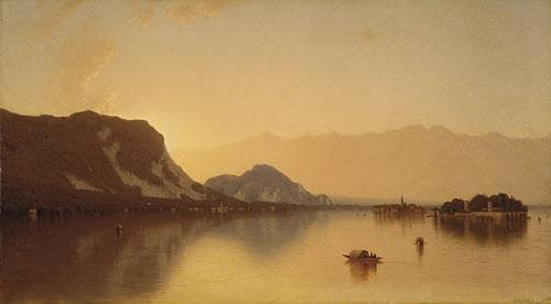 Isola Bella in Lago Maggiore 1871 | Sanford Robinson Gifford | Oil Painting
