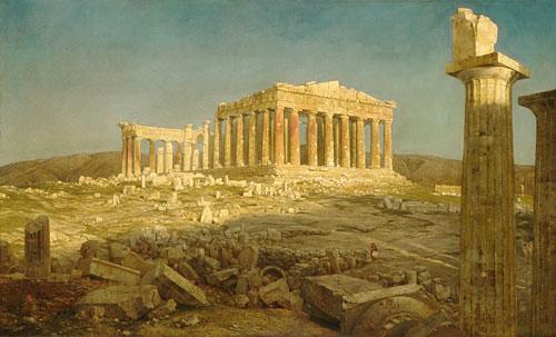 The Parthenon 1871 | Frederic Edwin Church | Oil Painting
