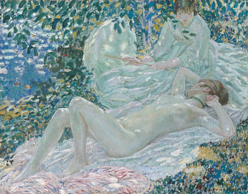 Summer 1914 | Frederick Carl Frieseke | Oil Painting