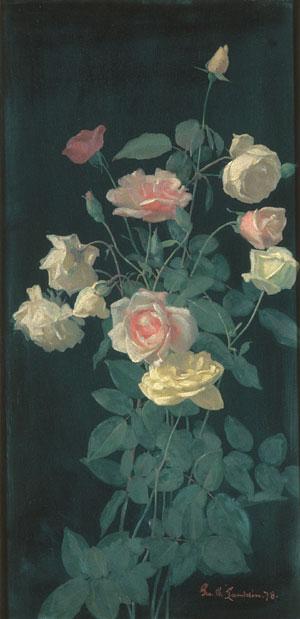 Roses 1878 | George Cochran Lambdin | Oil Painting