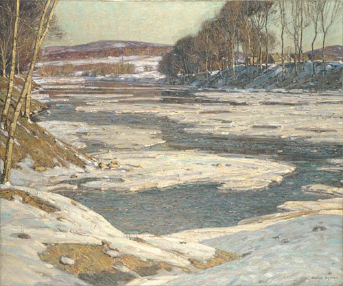 An Opalescent River Finished 1909 | George Gardner Symons | Oil Painting