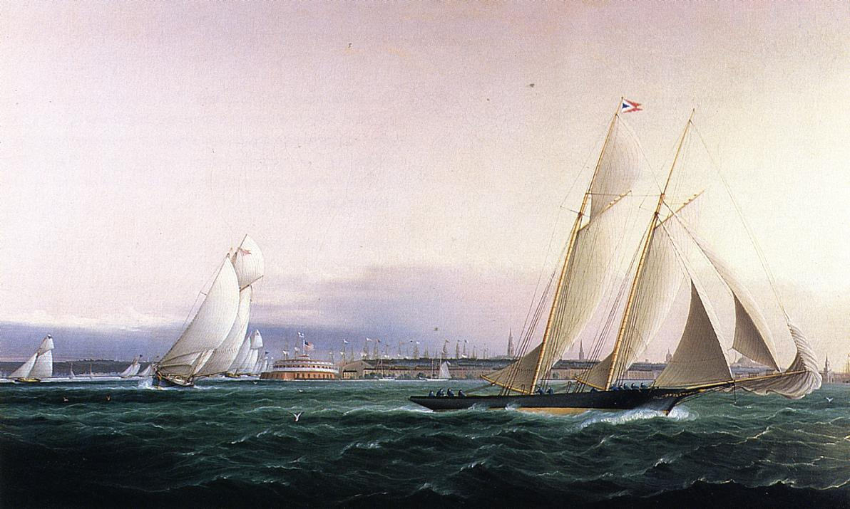 New York from the Bay 1878 1875 | James Buttersworth | Oil Painting