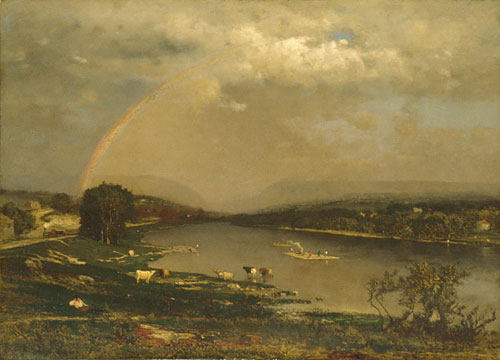 Delaware Water Gap 1861 | George Inness | Oil Painting
