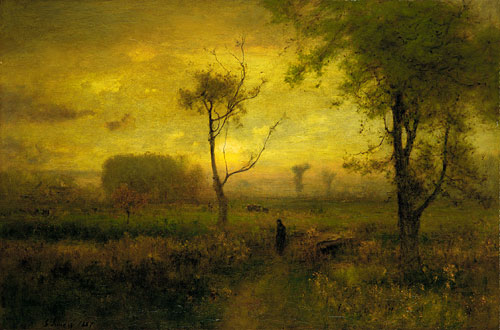 Sunrise 1887 | George Inness | Oil Painting