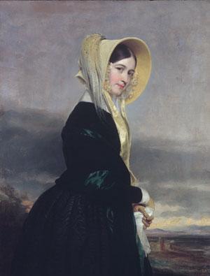 Euphemia White Van Rensselaer 1842   George P A Healy   Oil Painting
