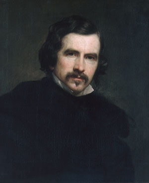 Portrait of the Artist 1851 | George P A Healy | Oil Painting