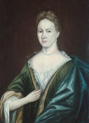 Mrs. Augustus Jay 1700   Gerrit Duyckinck   Oil Painting