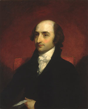 Albert Gallatin 1803 | Gilbert Stuart | Oil Painting