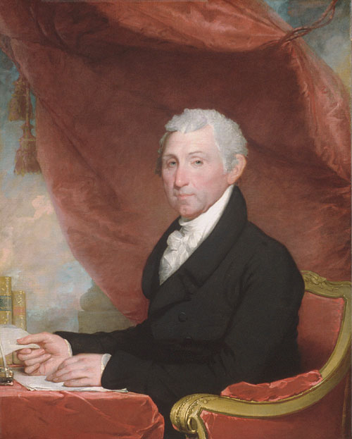 James Monroe 1820 | Gilbert Stuart | Oil Painting