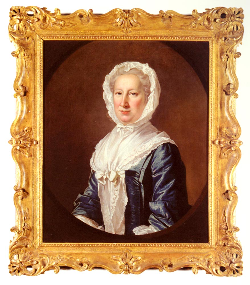 Portrait Of Catherine Fleming Lady Leicester | James Cranke | Oil Painting