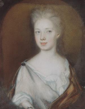 Mrs Pierre Bacot 1708   Henrietta Johnston   Oil Painting