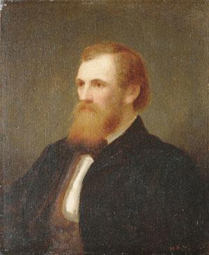 John Quincy Adams Ward 1860 | Henry Augustus Loop | Oil Painting