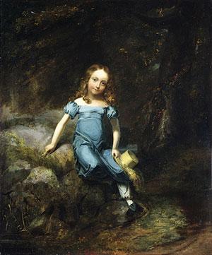 Janet Halleck Drake 1825 | Henry Inman | Oil Painting