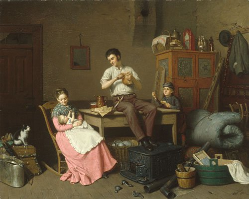 Just Moved 1870 | Henry Mosler | Oil Painting