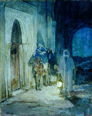 Flight Into Egypt 1923 | Henry Ossawa Tanner | Oil Painting